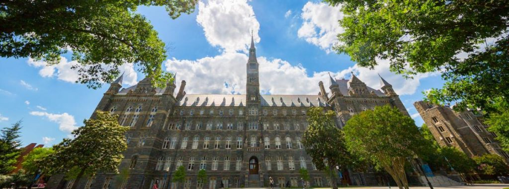 photo of Healy Hall on a Sunny Day