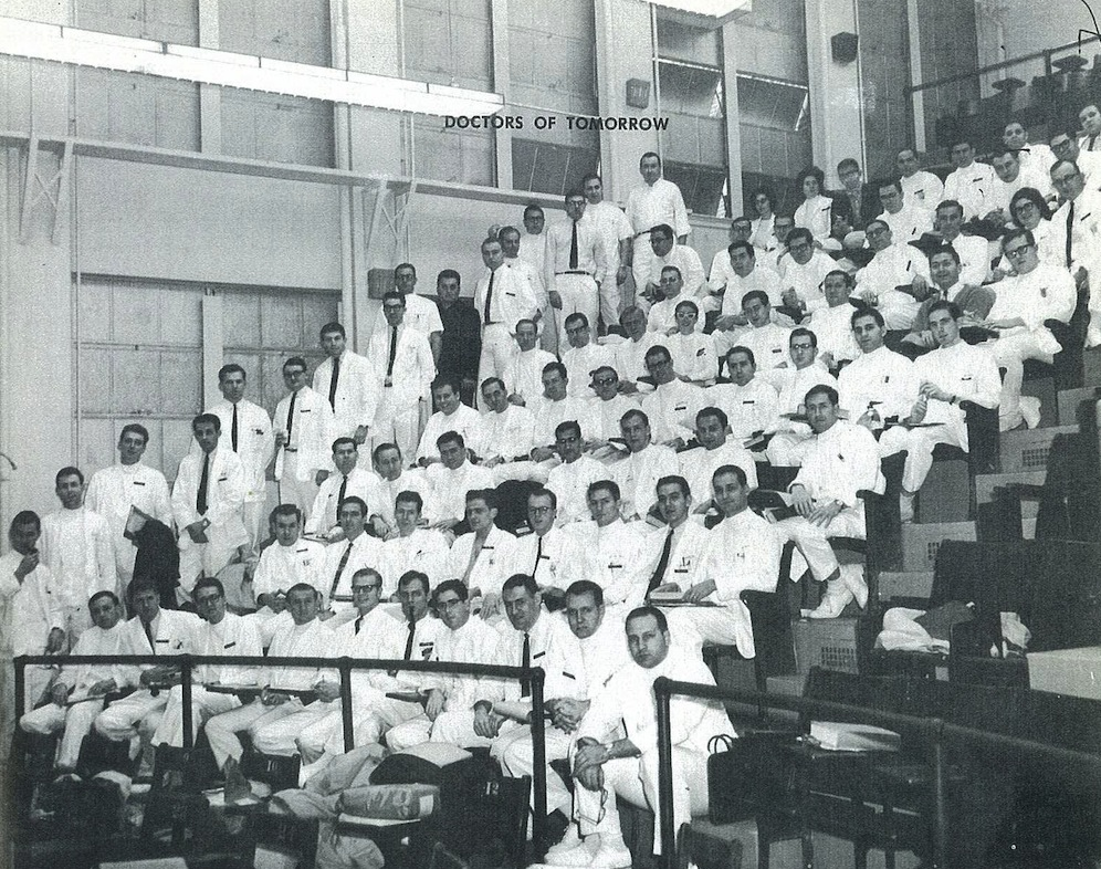 archival photo of SOM Class of 1966