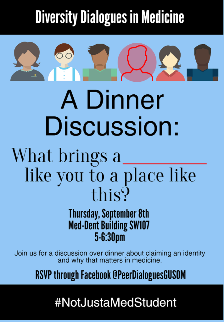 Dinner Discussion Flyer