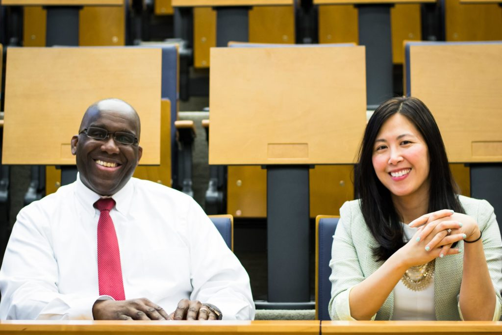 Dean David Taylor, Office of Student Learning & Dean Susan Cheng, Office of Diversity & Inclusion