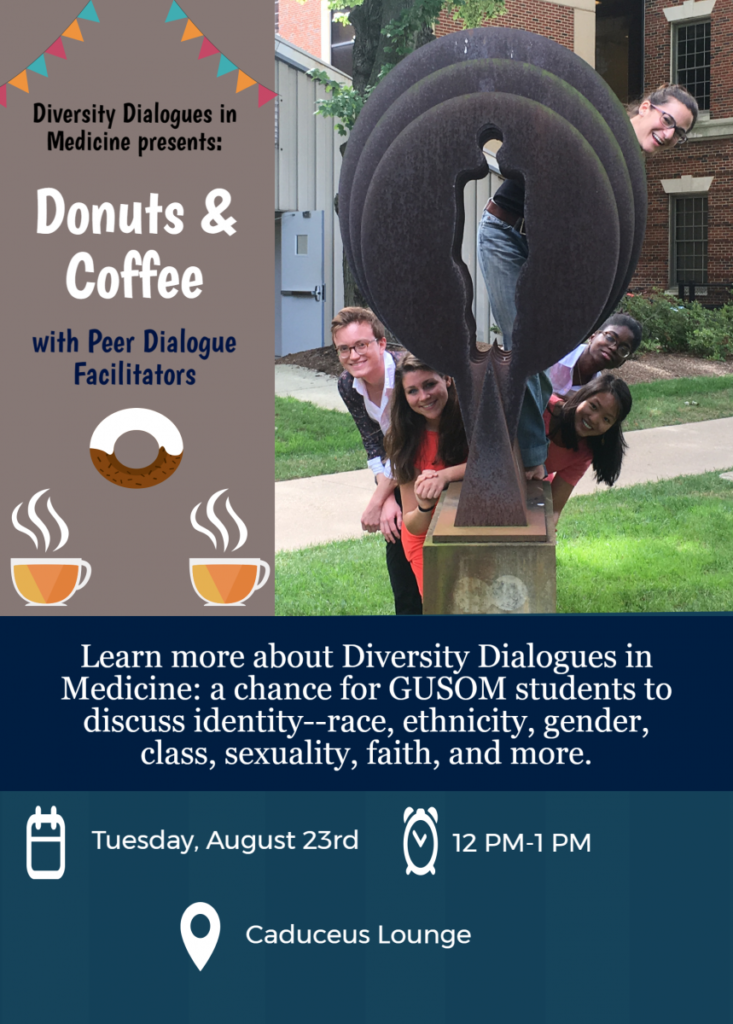 Donuts & Coffee with Peer Dialogue Facilitator
