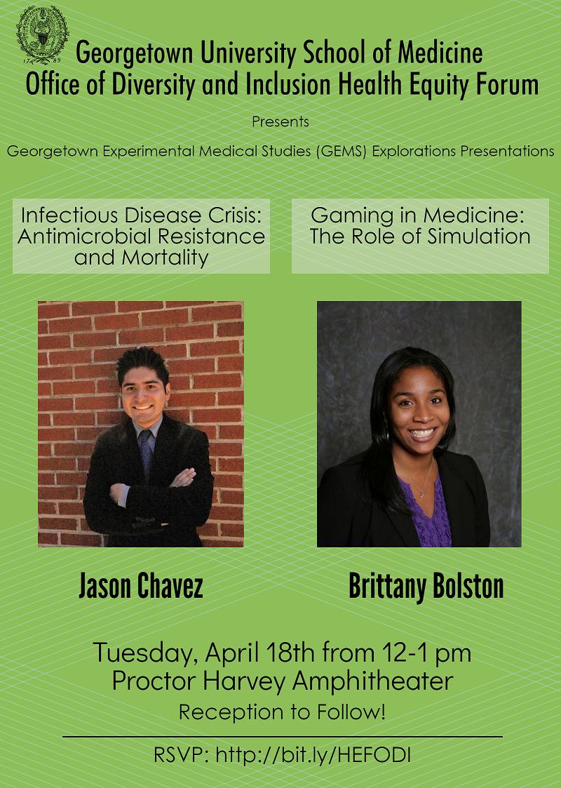 Jason Chavez & Brittany Bolston HEF Presentations