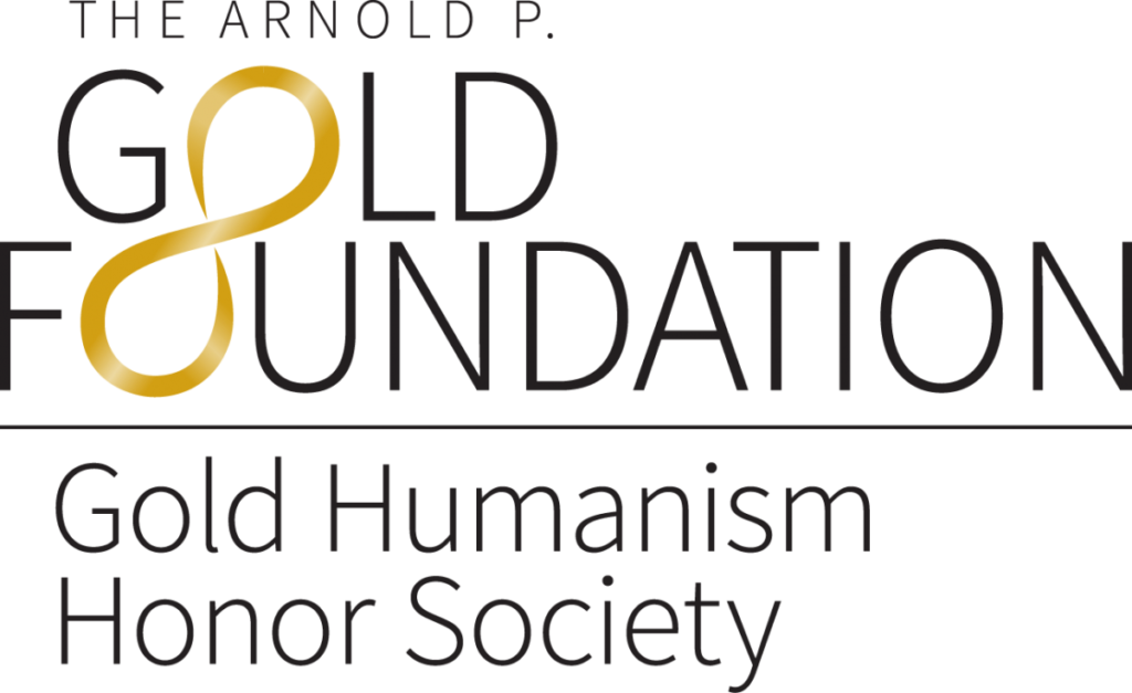 The Arnold P. Gold Foundation Humanism Honor Society logo