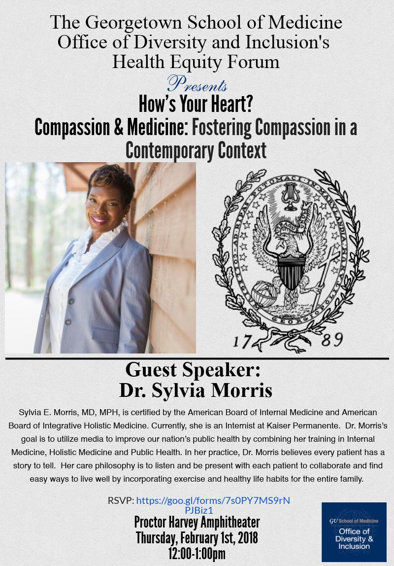 Dr. Sylvia Morris Health Equity Forum
