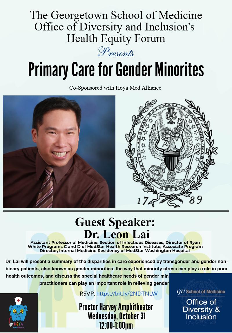 Dr. Leon Lai: Primary Care for Gender Minorities