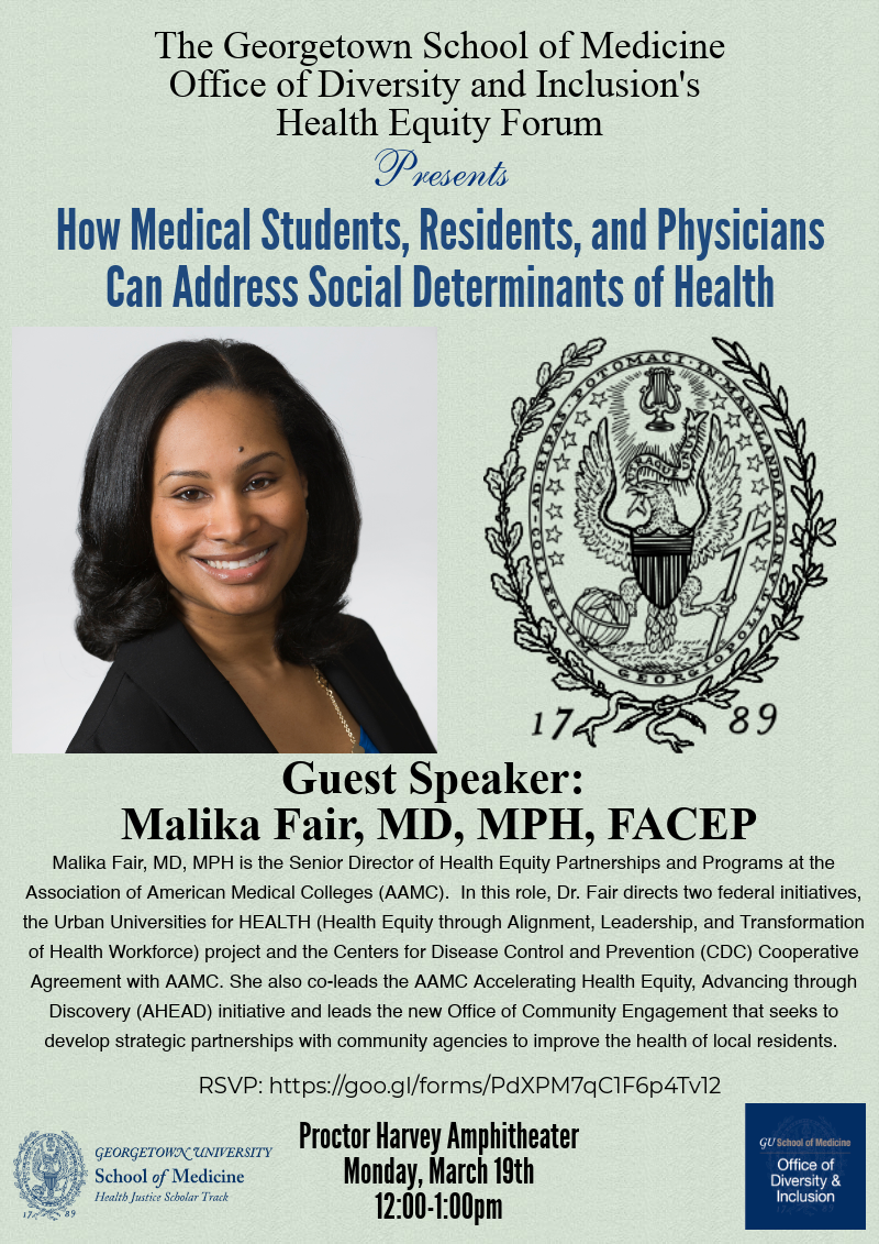 Dr. Malika Fair: How Medical Students, Residents and Physicians Can Address Social Determinants of Health