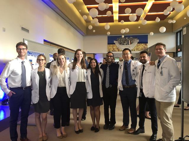 M2021 Scholars at Capstone Event on October 10, 2018