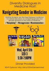 DDIM Navigating Gender in Medicine Flyer