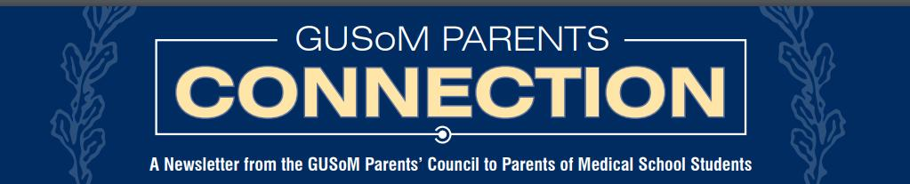 GUSoM Parents Connection logo