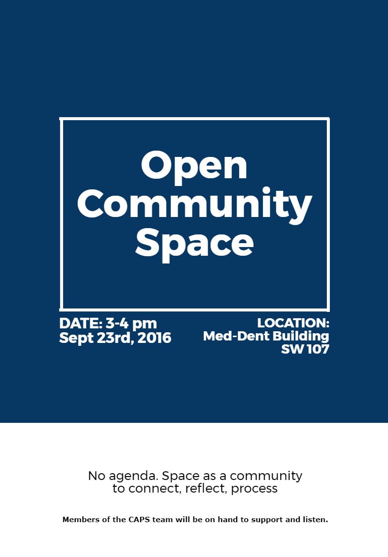 Open Community Space