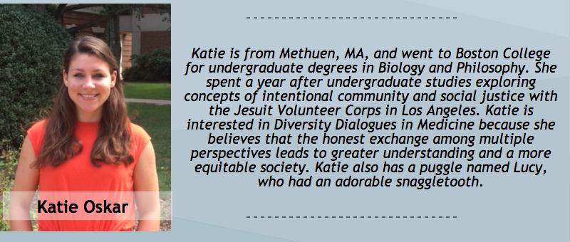 Katie Oskar, Peer Dialogue Facilitator