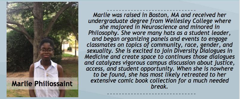 Marlie Philiossanit, Peer Dialogue Facilitator