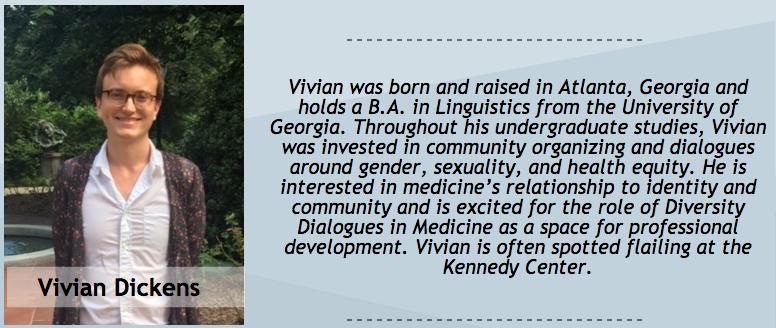 Vivian Dickens, Peer Dialogue Facilitator