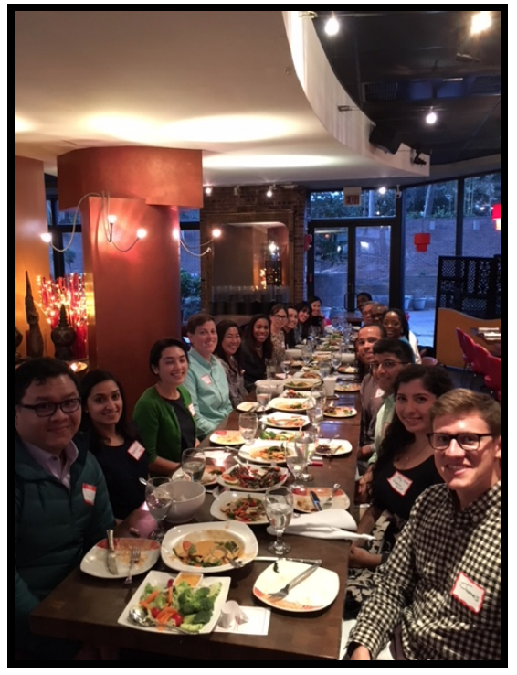 Picture of group at Build & Belong Dinner