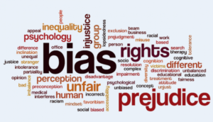 image of a word cloud for BIAS