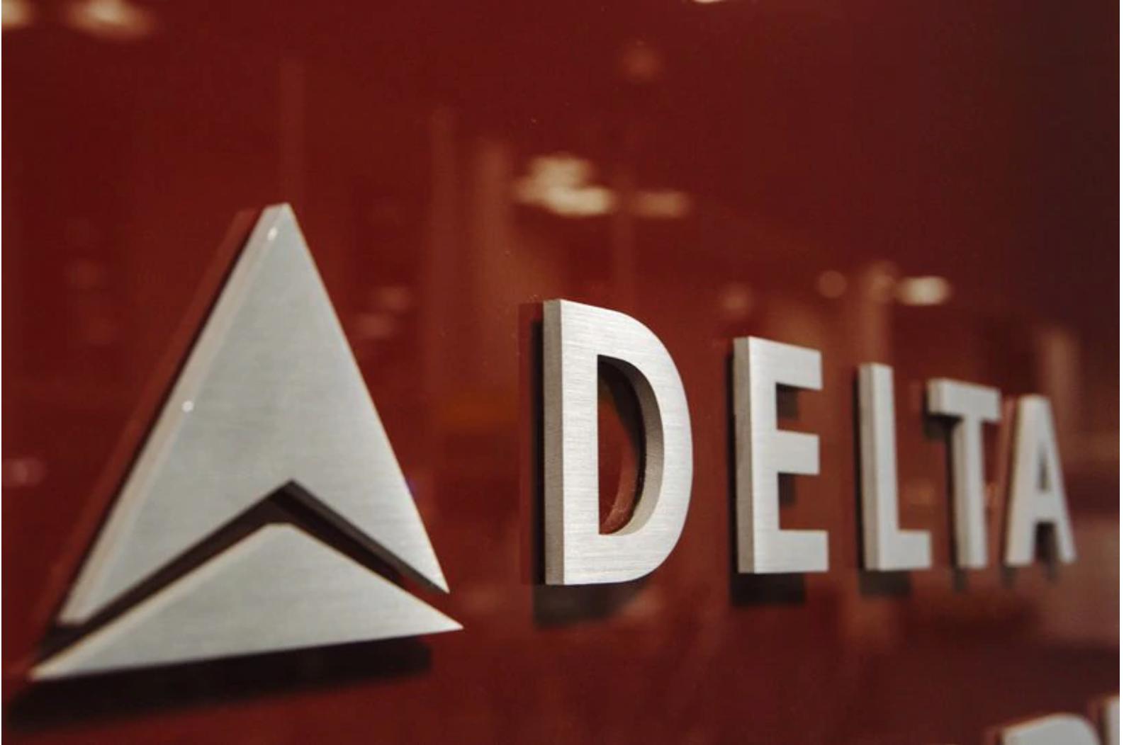 logo for Delta Airline