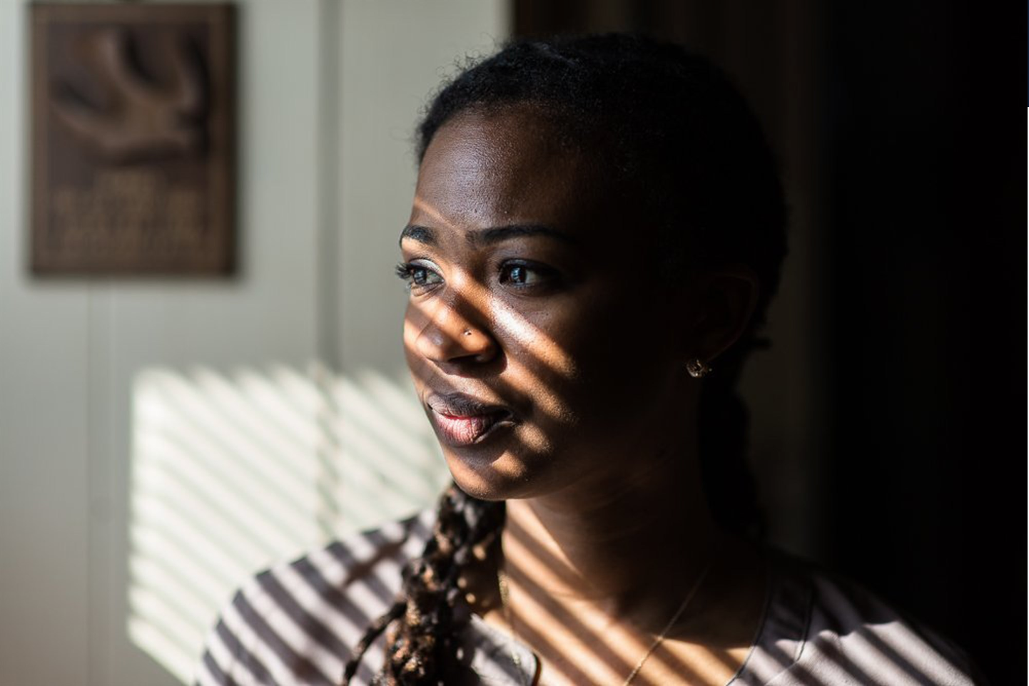 Black women are three to four times more likely than white women to die of pregnancy-related causes. Doctors are taking a new approach to the crisis. Photo of Alia McCants in her home in White Plains, New York