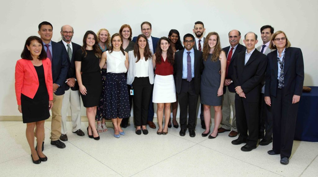 M2020 scholars with faculty advisors & mentors at Capstone on September 19, 2017.