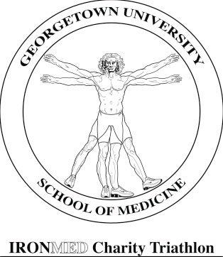 Georgetown School of Medicine IronMed Charity Triathlon Logo