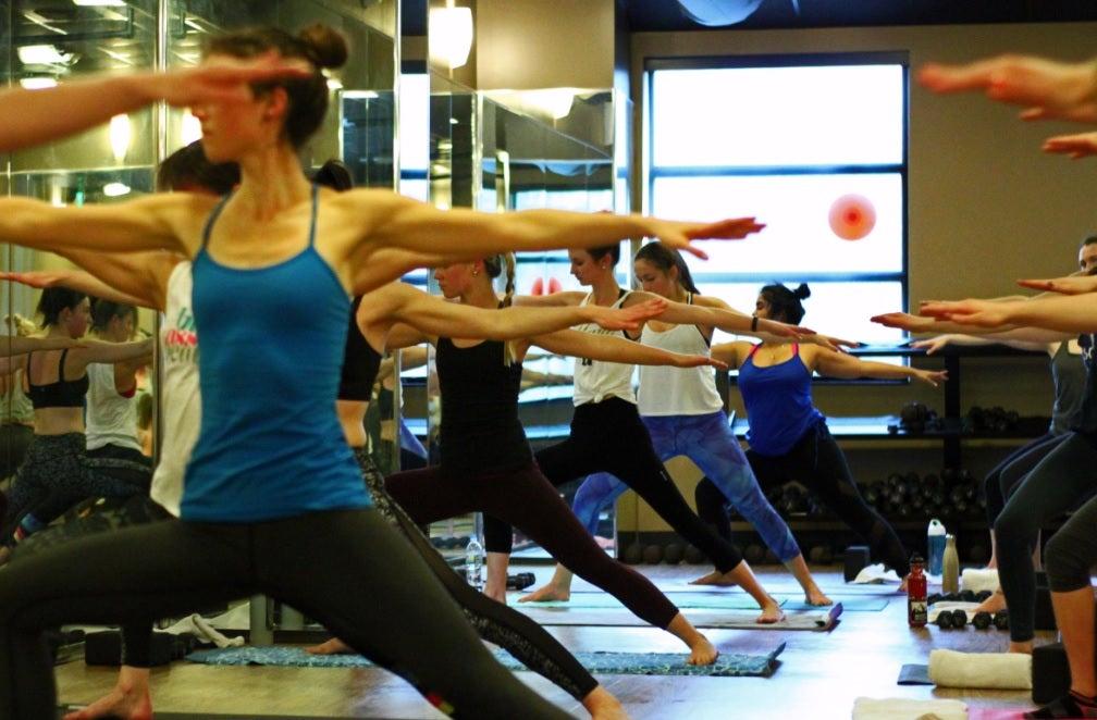 """""""Me in Medicine"""" event, Core Power Yoga"""