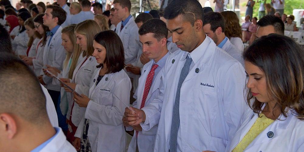 Med School: White Coat Ceremony