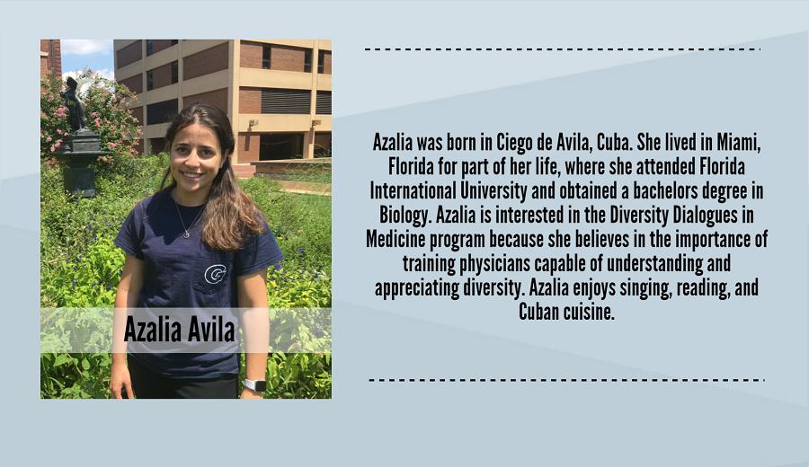 Azalia Avila, 2017-2018 Peer Dialogue Facilitator