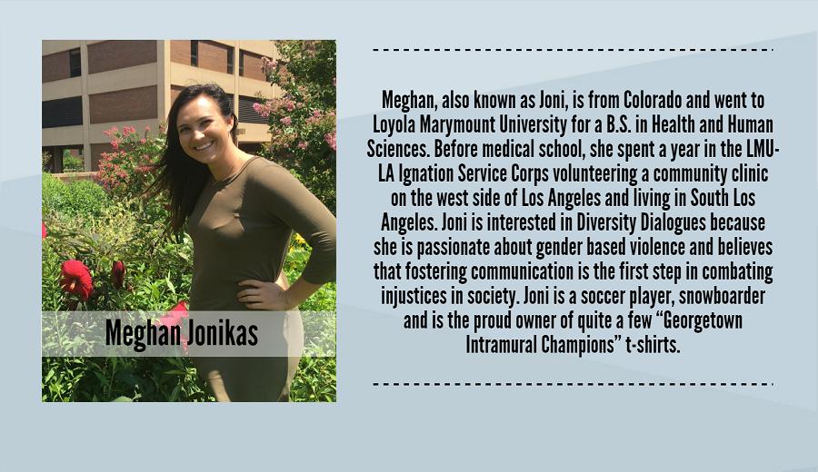 Meghan Jonikas, 2017-2018 Peer Dialogue Facilitator
