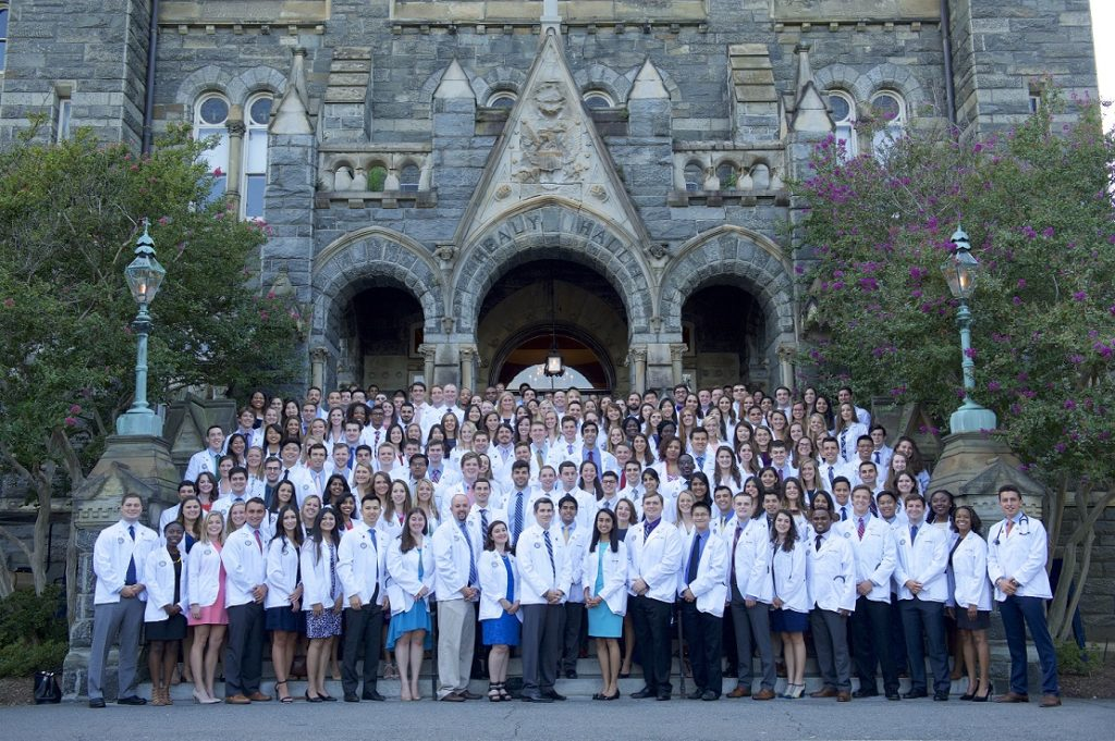 Class of 2018 White Coat Ceremony Photo